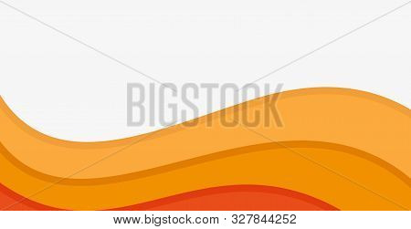 Flat Yellow Background. Yellow Abstract Yellow/orange Background Wave. Modern Texture Background, Co