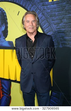 LOS ANGELES - OCT 14:  Don Johnson at the HBO's Watchman Premiere Screening at the Cinerama Dome on October 14, 2019 in Los Angeles, CA