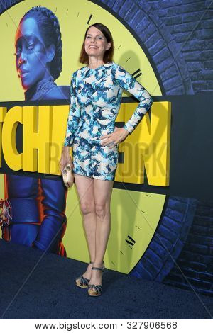 LOS ANGELES - OCT 14:  Suzanne Cryer at the HBO's Watchman Premiere Screening at the Cinerama Dome on October 14, 2019 in Los Angeles, CA
