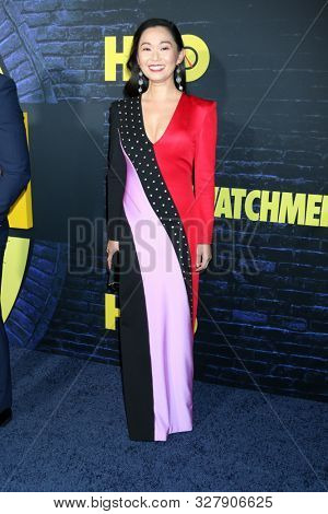 LOS ANGELES - OCT 14:  Hong Chau at the HBO's Watchman Premiere Screening at the Cinerama Dome on October 14, 2019 in Los Angeles, CA