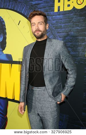 LOS ANGELES - OCT 14:  Tom Mison at the HBO's Watchman Premiere Screening at the Cinerama Dome on October 14, 2019 in Los Angeles, CA