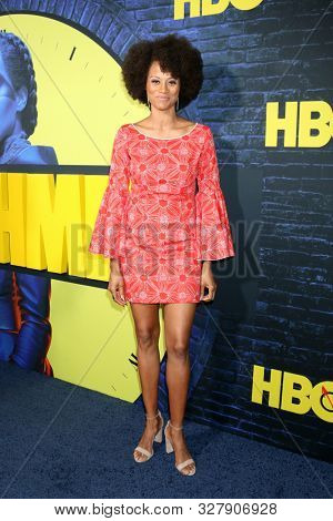 LOS ANGELES - OCT 14:  Nika Williams at the HBO's Watchman Premiere Screening at the Cinerama Dome on October 14, 2019 in Los Angeles, CA