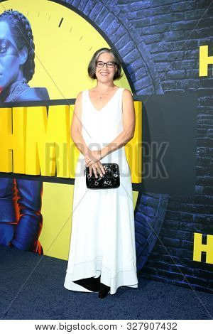 LOS ANGELES - OCT 14:  Nicole Kassell at the HBO's Watchman Premiere Screening at the Cinerama Dome on October 14, 2019 in Los Angeles, CA