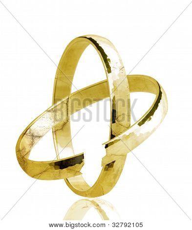 Broken weddingring