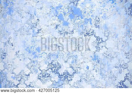 Digital Tiles Design.colorful Ceramic Wall Tiles Decoration. Abstract Damask Patchwork Pattern With