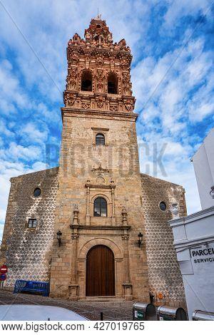 Bell Tower Of Saint Michael, San Miguel In Jerez De Los Caballeros, Province Of Badajoz, Extremadura