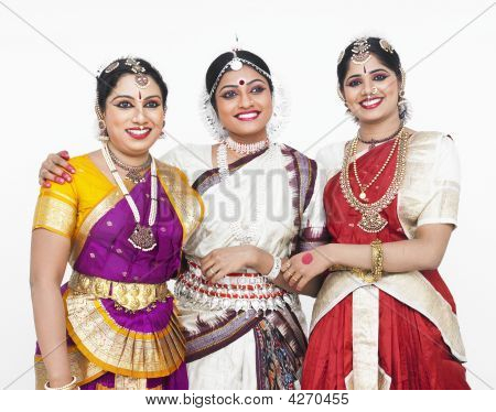 Pretty Female Dancers From India