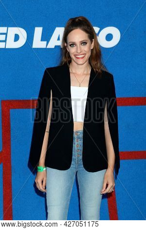 LOS ANGELES - JUL 15:  Carly Chaikin at the Ted Lasso Season 2 Premiere Screening at the Pacific Design Center Rooftop on July 15, 2021 in Los Angeles, CA