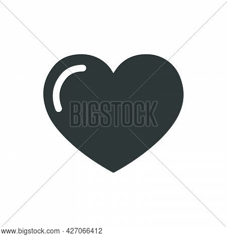 Love, Bookmark Icon. Meticulously Designed Vector Eps File.