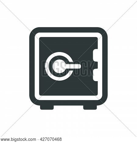 Bank Locker Icon. Meticulously Designed Vector Eps File.