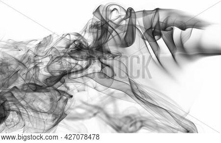 Effect Of Black Transparent Smoke