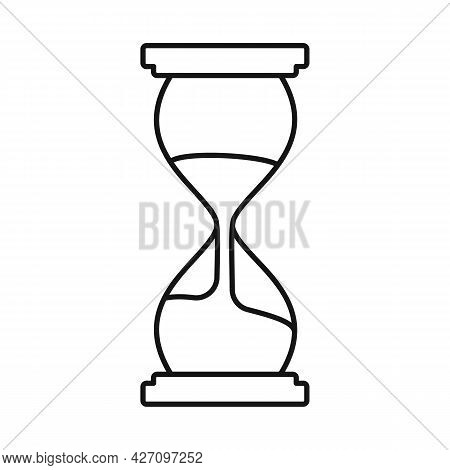 Vector Illustration Of Timepieces And Sandglass Icon. Graphic Of Timepieces And Minute Vector Icon F