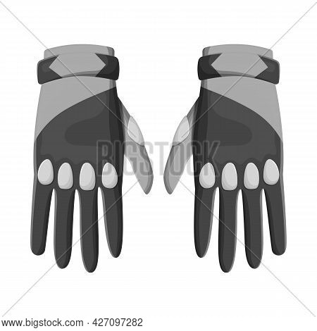 Vector Illustration Of Gloves And Dive Icon. Graphic Of Gloves And Waterproof Stock Symbol For Web.