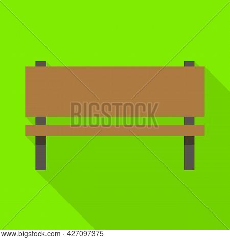 Isolated Object Of Bench And Seat Icon. Web Element Of Bench And Furniture Stock Symbol For Web.