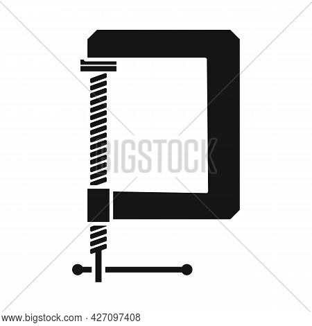 Vector Design Of Clamp And Screw Logo. Web Element Of Clamp And Vise Stock Vector Illustration.