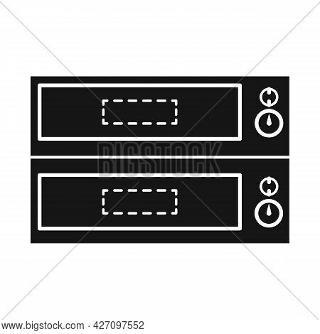 Vector Design Of Oven And Kitchenware Logo. Web Element Of Oven And Appliances Stock Symbol For Web.