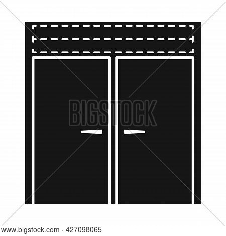 Vector Illustration Of Refrigerator And Freezer Icon. Web Element Of Refrigerator And Fridge Vector