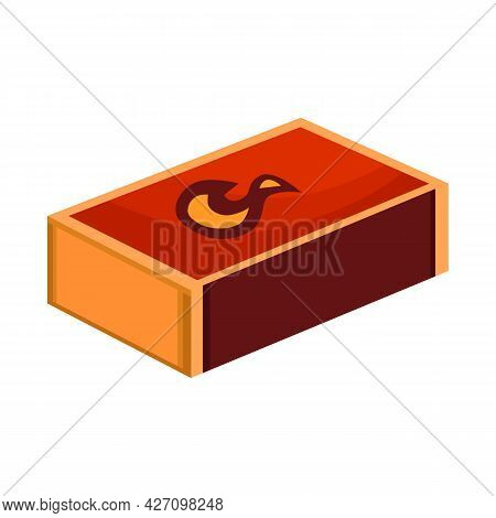 Vector Illustration Of Matchbox And Box Icon. Graphic Of Matchbox And Household Stock Symbol For Web