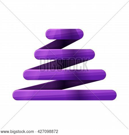 Vector Illustration Of Coil And Spiral Symbol. Web Element Of Coil And Metal Stock Vector Illustrati