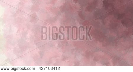 Abstract Watercolor Grunge Background In The Form Of A Gradient From Pale Purple To Light Gray