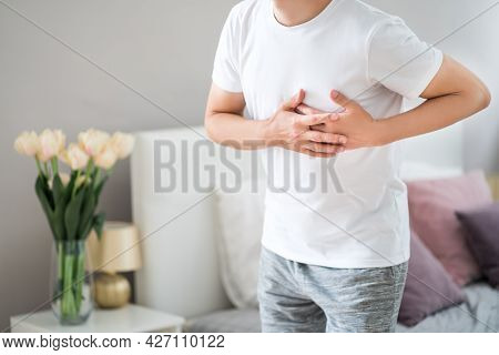 Heart Attack, Man With Chest Pain