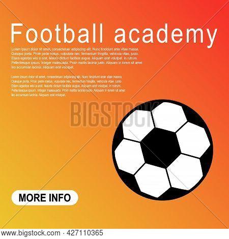 Template Of Soccer, Football Ball Symbol, Single Goal Isolated Design Vector Illustration, Web Game