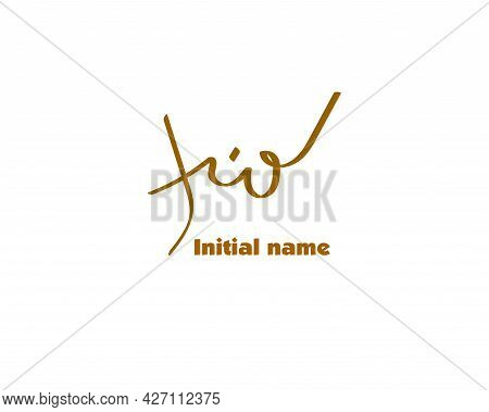 Name Initial Design, Initial Handwriting, Logo For Corporate Identity, Company Name, Product Name, S
