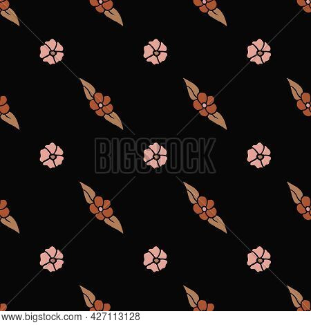 Hand-drawn Multicolor Repeat Pattern On Transparent Background, Repeat Pattern For Textile, Wallpape