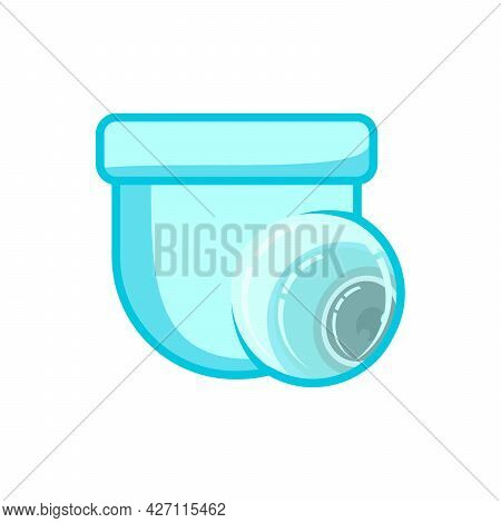Cctv Vector. Cctv Camera Icon Isolated On White Background. Cctv Camera Icon Simple Sign. Cctv Camer