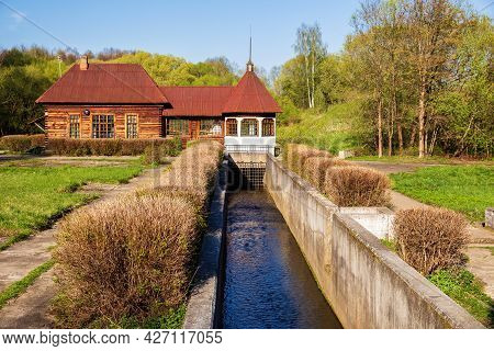 Old Rural Hydroelectric Power Station, One Of The First Rural Hydroelectric Power Plants In The Ussr