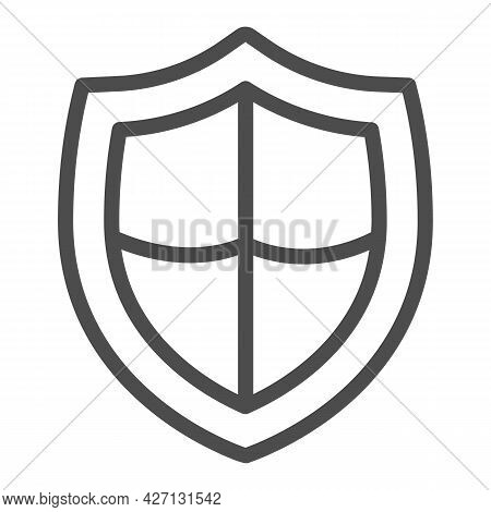 Antivirus Emblem Line Icon, Pcrepair Concept, Antivirus Emblem Vector Sign On White Background, Anti