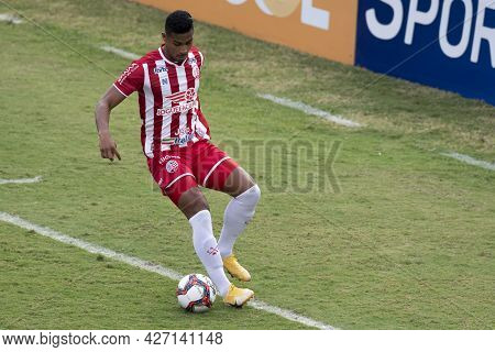 Rio, Brazil - July 18, 2021: Carlao Player In Match Between Vasco 1 Vs 1 Nautico By 12th Round Of Br