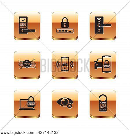 Set Digital Door Lock With Wireless, Laptop Password, Invisible Hide, Smart Car Alarm System, Vpn Mi