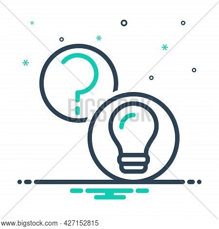 Mix Icon For Questions-and-answers Question Answers Query Aknowledgement Interaction Searching