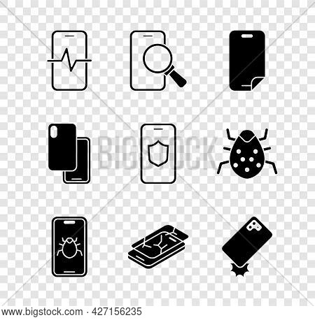 Set Phone Repair Service, Glass Screen Protector, System Bug Mobile, Mobile With Broken, Shockproof