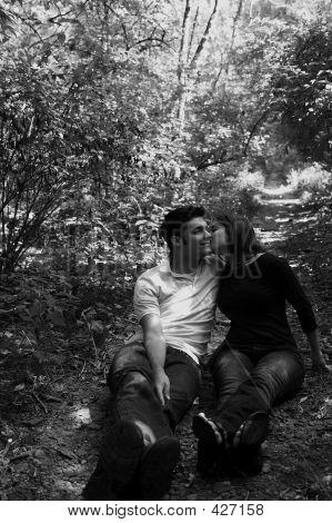 Love Couple Sit Path