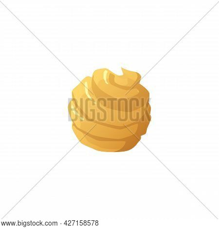 Sweet Candy With Cream Or Caramel For Beautiful Design Of Confectionery.
