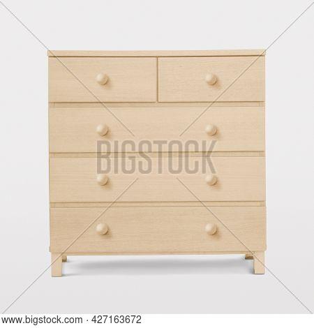 Minimal dresser drawer wooden furniture