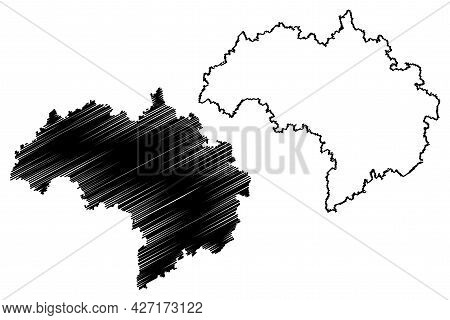 Regensburg District (federal Republic Of Germany, Rural District Upper Palatinate, Free State Of Bav