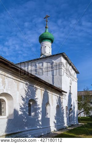 Church Of Elijah The Prophet In St.paphnutius Borovsk Monastery, Russia