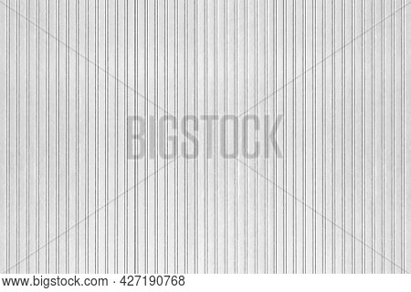 White Painted Galvanized Fence Texture And Background Seamless
