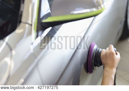 Polishing Machine For Polishing Cars And Removing Scratches