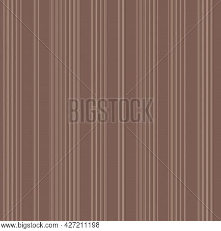 Vector Seamless Striped Minimalistic Pattern. Vertical Lines Endless Texture. Repeatable Simple Brow