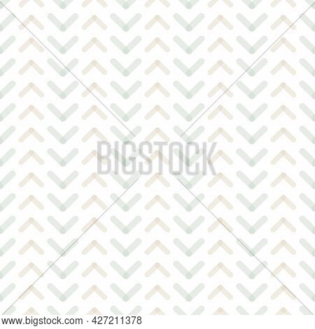Vector Seamless Geometric Pattern - Delicate Design. Simple White Repeatable Background