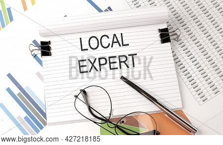 Local Expert , Text On The Chart , Office Supplies, Business