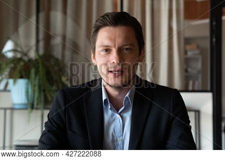 Confident Male Business Leader, Professional Head Shot