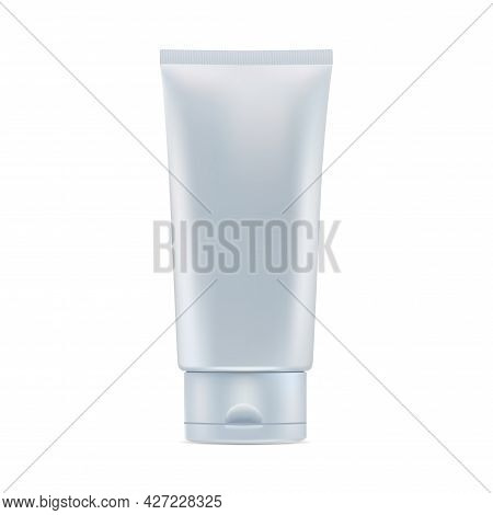 Cosmetic Cream Tube. Glossy Cosmetic Product Package. Plastic Toothpaste Tube. Corean Hydration Masq