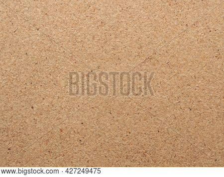 Texture Of Chipboard, Close Up As Background, Packaging Or Construction Concept, Header Or Backdrop