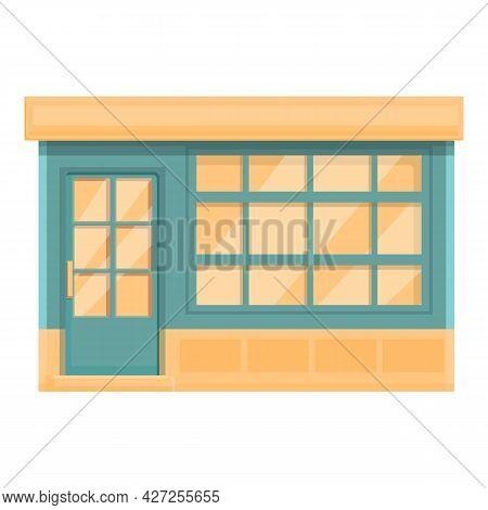 Cafeteria Street Shop Icon Cartoon Vector. Drink Cafe. Coffee Store