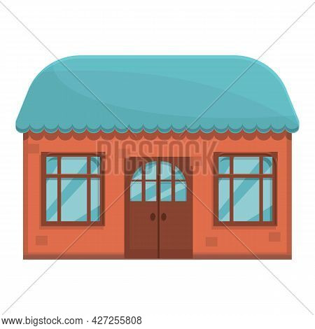 French Street Cafe Icon Cartoon Vector. Drink Restaurant. Business Cafeteria